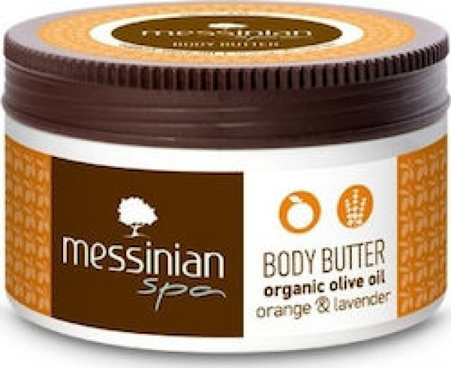Messinian Spa Body Butter Orange - Lavender 80ml