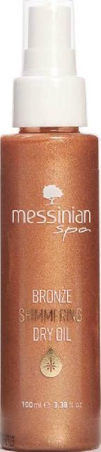 Messinian Spa Bronze Shimmering Dry Oil 100ml
