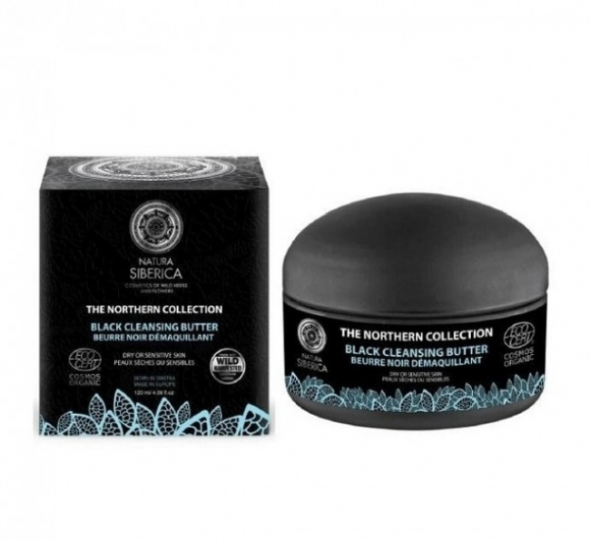 Natura Siberica Black Cleansing Butter 120ml