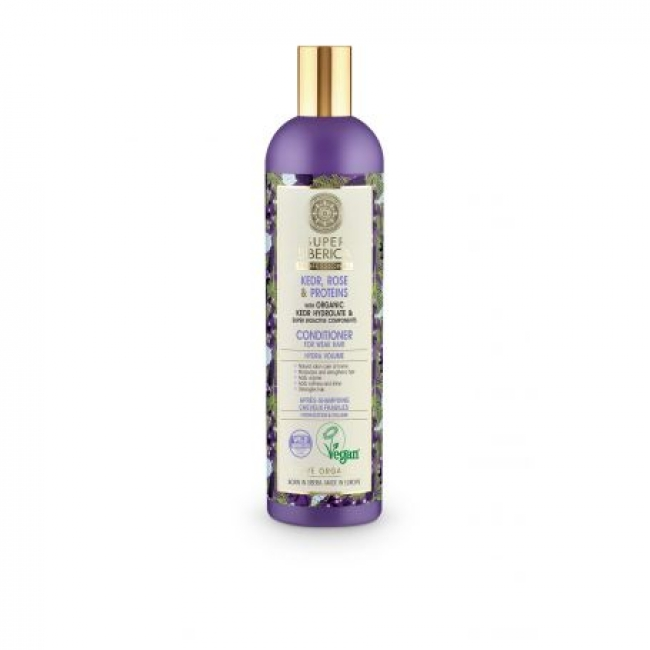 Natura Siberica Super Siberica Kedr, Rose & Proteins Conditioner , 400ml