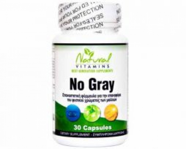 Natural Vitamins No Gray, 60 κάψουλες
