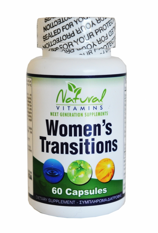 Natural Vitamins Women's Transitions, 60 Caps