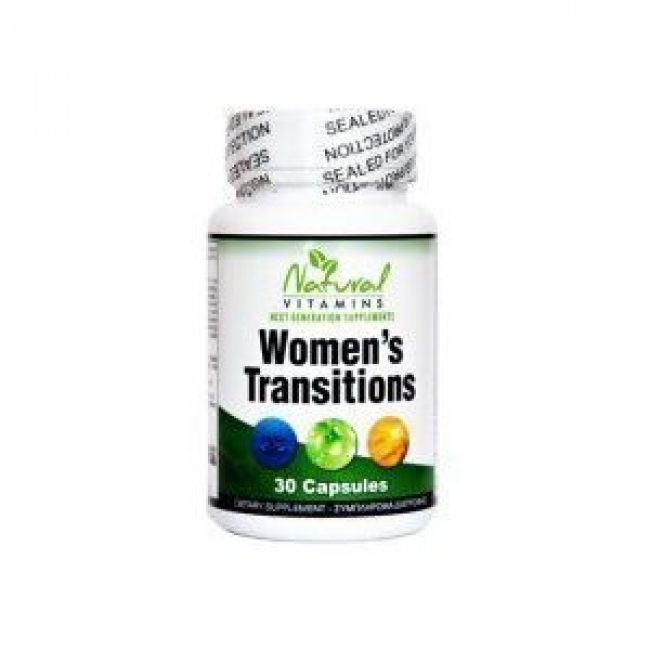 Natural Vitamins Women's Transitions x30Caps