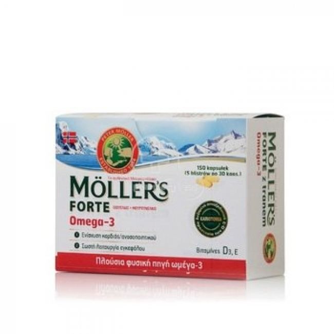 Nature's Plus Moller's Forte Omega-3 Blisters , 150caps