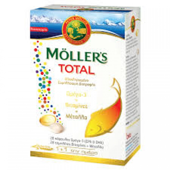 Nature's Plus Moller's Total 28caps+28tabs