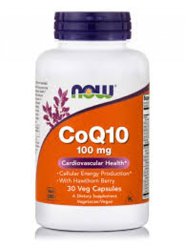 Now CoQ10 100mg , 30 VCAPS