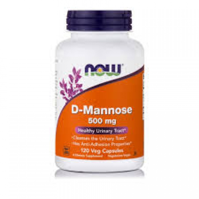 Now Foods D Mannose 500mg , 120 κάψουλες