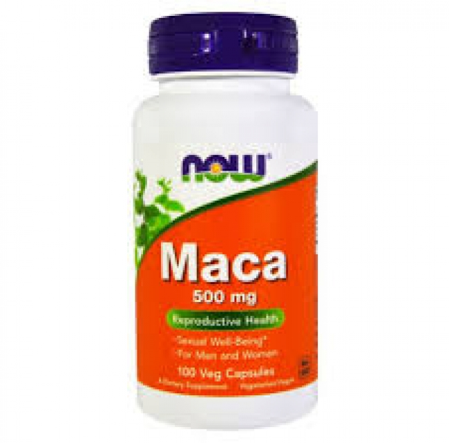 Now Foods Maca 500mg , 100 κάψουλες