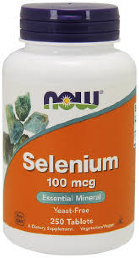 Now Foods Selenium 100mcg , 100 ταμπλέτες