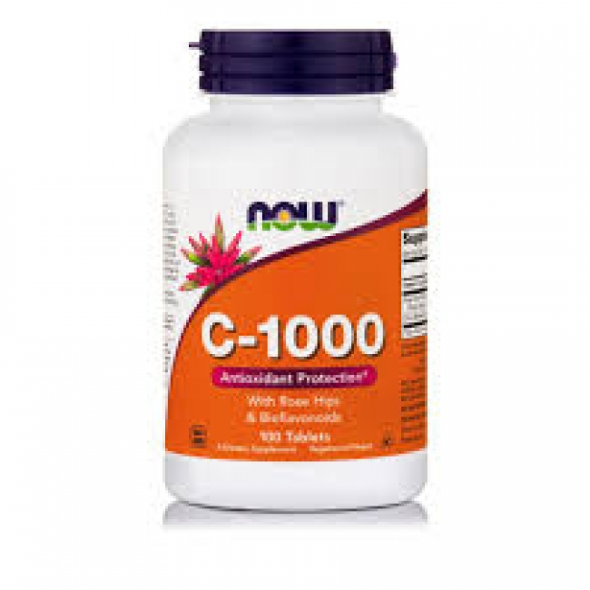 Now Foods Vitamin C-1000 Sustained Release , 100 Tablets