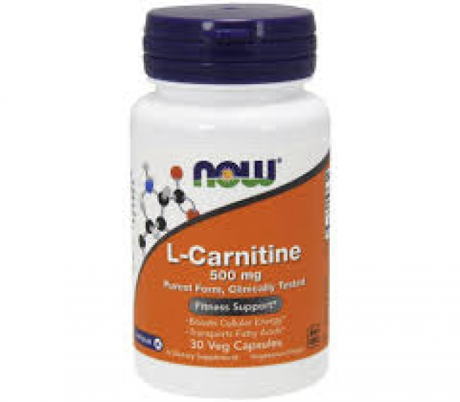 Now L-Carnitine 500mg 30VCaps