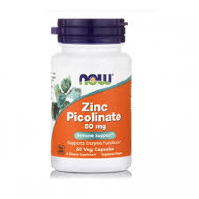 Now Zinc Picolinate 50mg 60Caps