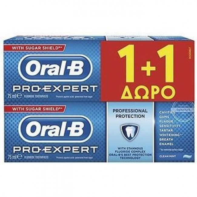 Oral-B Pro Expert Sensitive & Whitening (75+75)ML