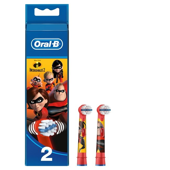 Oral B Stages Power The Incredibles 2 Ανταλλακτικές Κεφαλές Παιδικής Οδοντόβουρτσας ,2 Τεμάχια