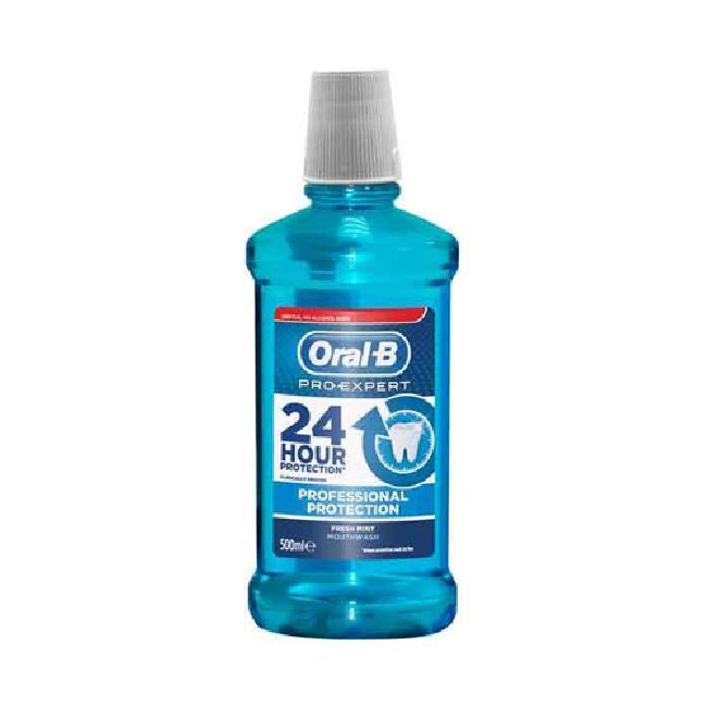 Oral-B Pro Expert 24hr Professional Protection Στοματικό Διάλυμα, 500ml