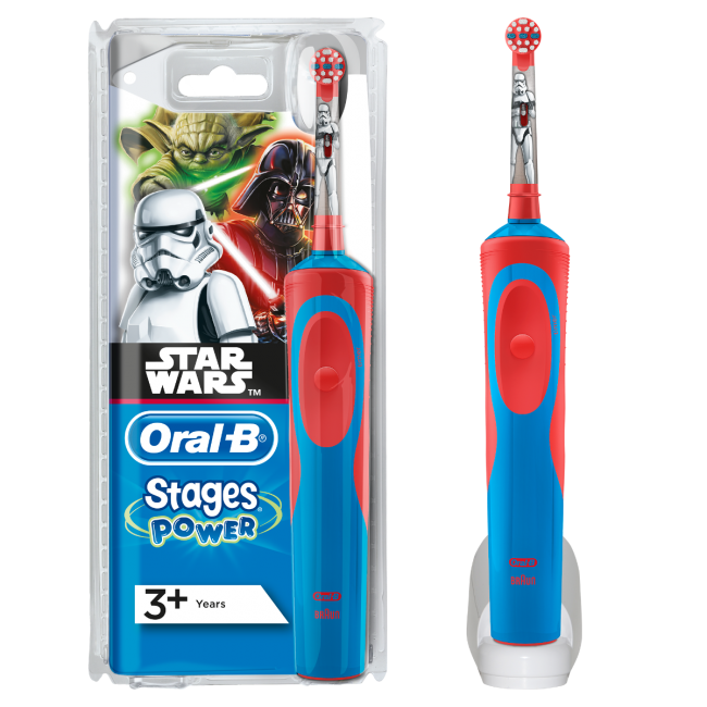 Oral-B Vitality Kids Stage Power Stars Wars 3+