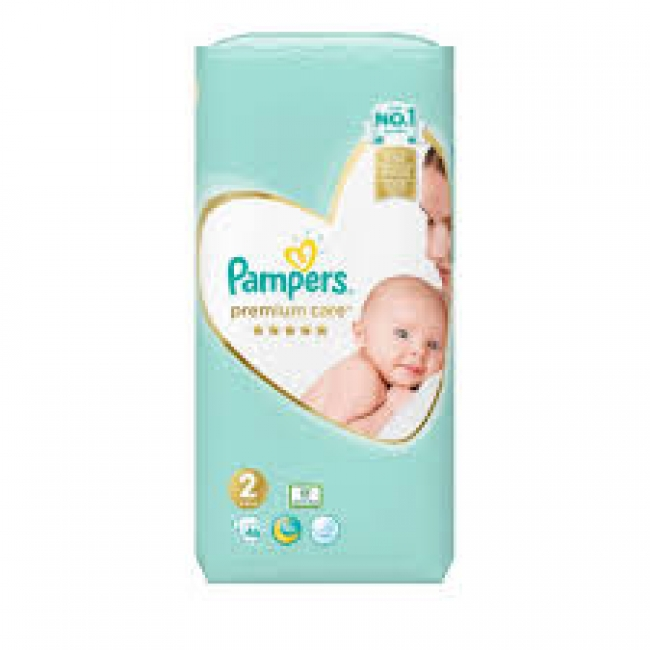 Pampers Prεmium Care Νο 2, 46 τεμάχια