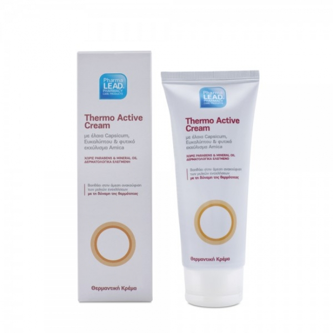 Pharmalead Thermo Active Cream, Θερμαντική Κρέμα  ,100ml
