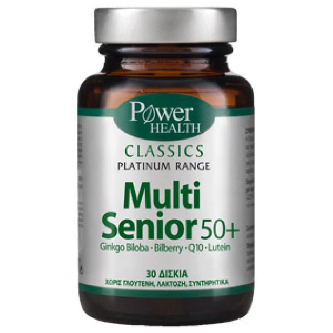 Power Health Multi Senior 50+,30Tabs