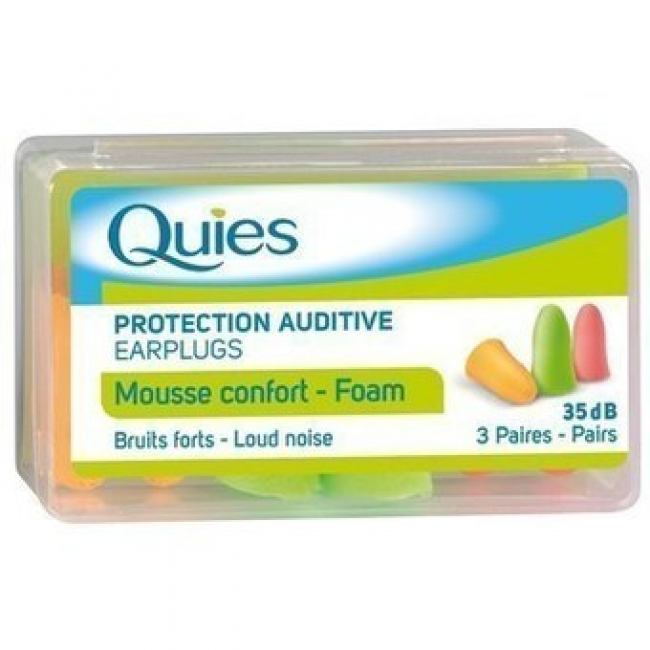 Quies Earplugs Foam 3 Ζευγαρια