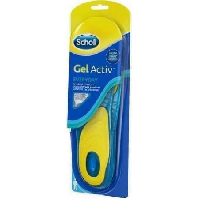 DR SCHOLL GELACTIV INSOLES EVERYDAY MEN