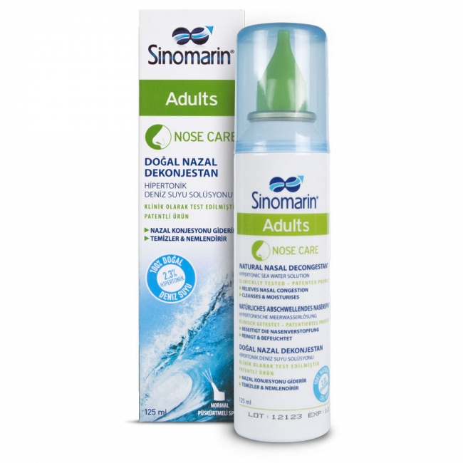 Sinomarin Nose Care Adults 125 ml