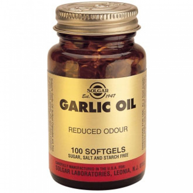 Solgar Garlic Oil , 100 Softgels