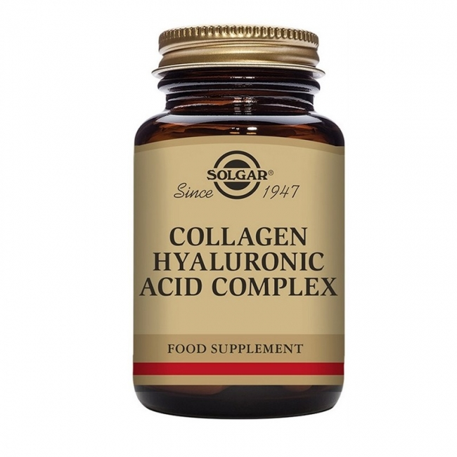 Solgar Collagen Hyaluronic Acid Complex 30 Ταμπλέτες