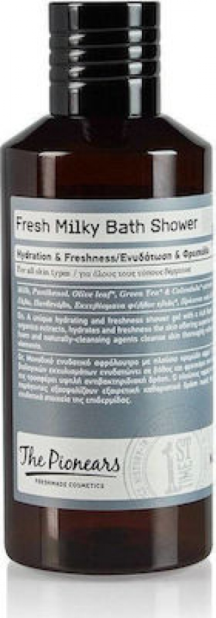 The Pionears Fresh Milky Bath Shower Lovely With Pouch 200ml