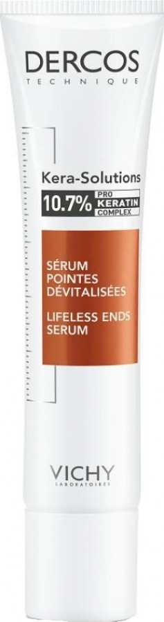 Vichy Dercos Kera-Solutions Lifeless Ends Serum Ορός Επανόρθωσης Μαλλιών, 40ml