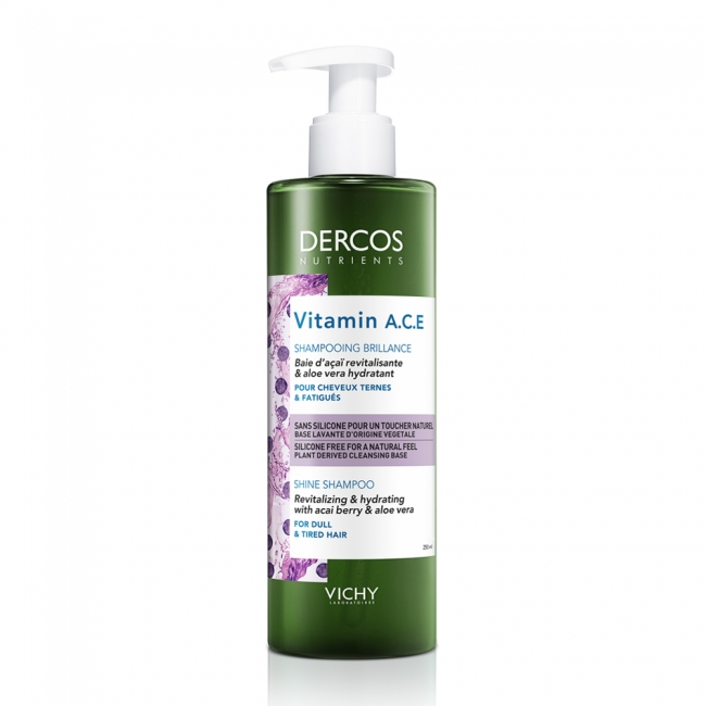 Vichy Dercos Nutrients Vitamin A.C.E. Shampoo 250ml