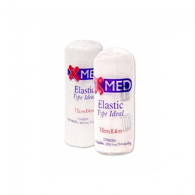 Medisei X-med Επίδεσμος Elastic Type Ideal 10cmx4m