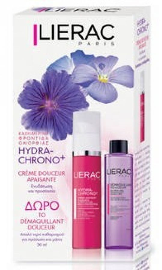 LIERAC PROMO HYDRA-CHRONO GEL 50ML + DEMAQUILLANT DOUCEUR 40ML ΔΩΡΟ